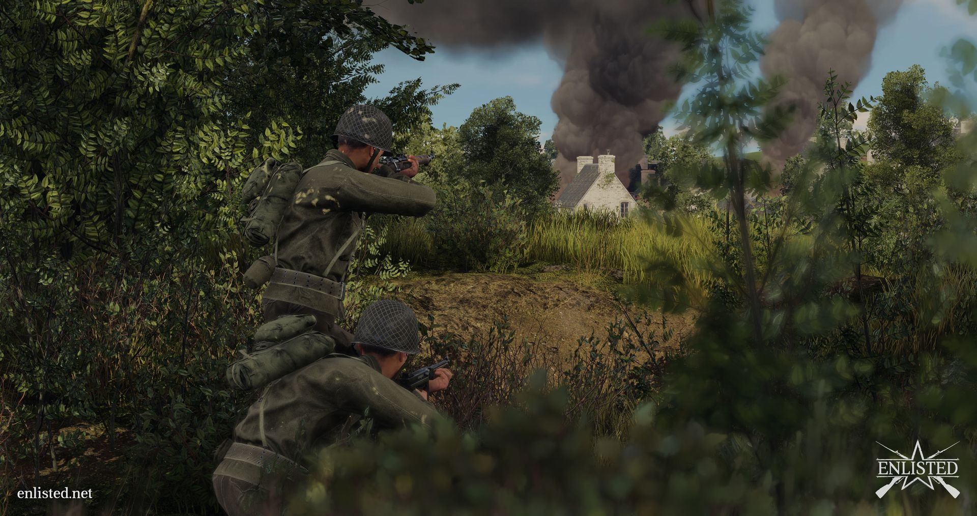 Enlisted Mmo Squad Based Shooter