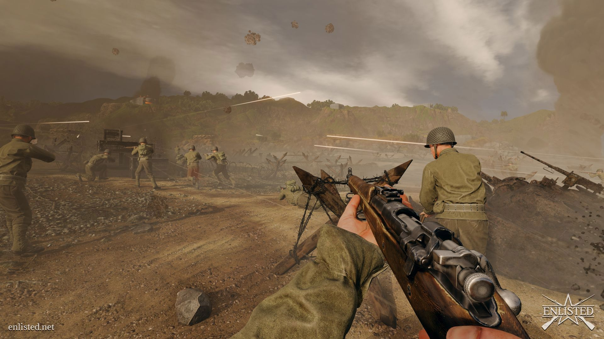 Enlisted - MMO squad-based shooter